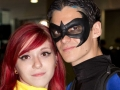 Batman and Bat Girl Costume Couple at NYCC 2012