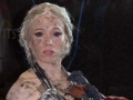 Daenerys Targaryen costume with baby dragons, Game of Thrones
