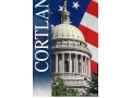 Cortland Court House Photograph and vertical Banner Design
