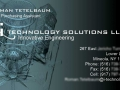 iTechnology business card