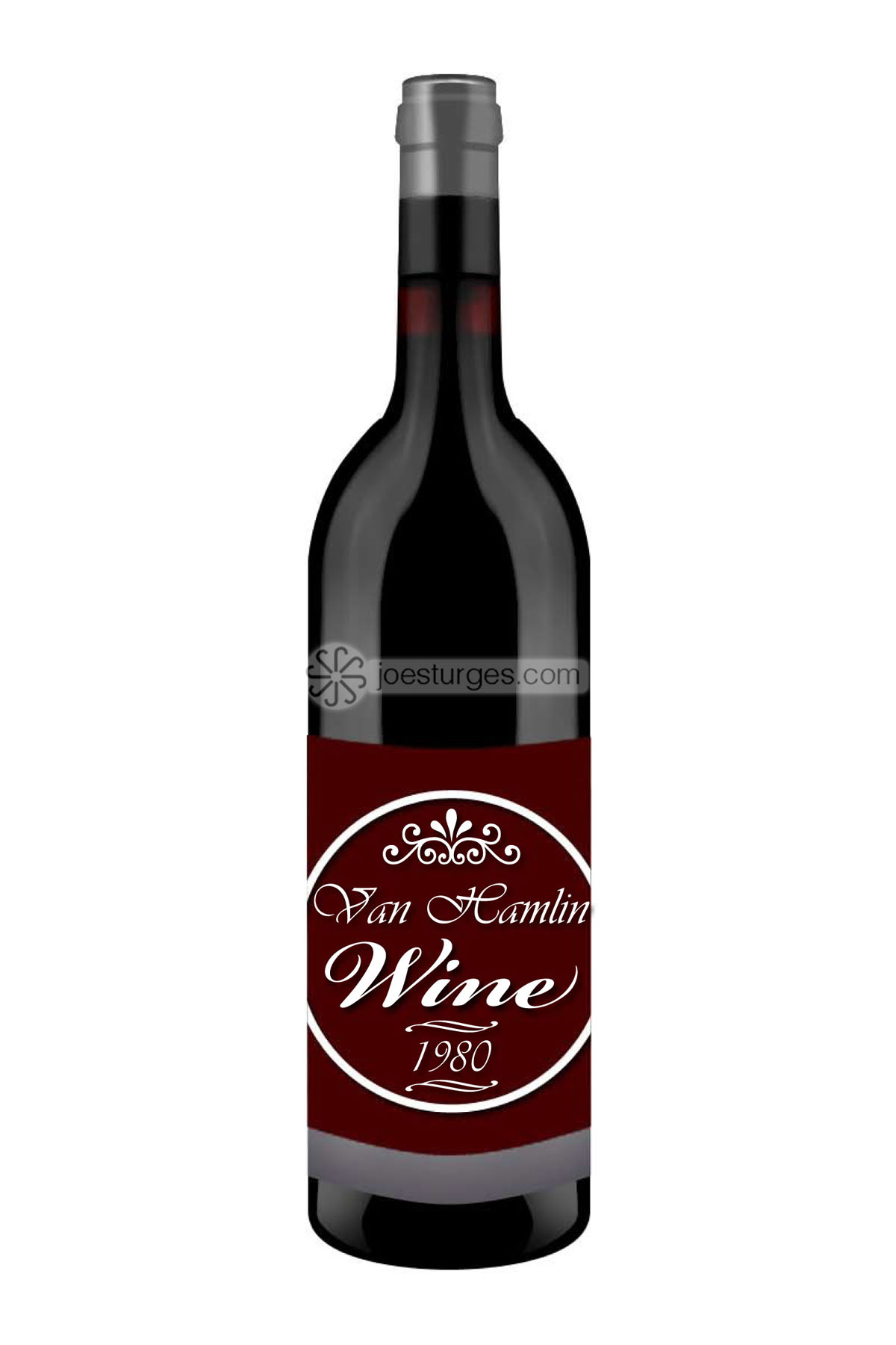 Wine Bottle Design Mock up for client.