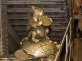 14th St Union Square, Subway Sculpture by Tom Otterness