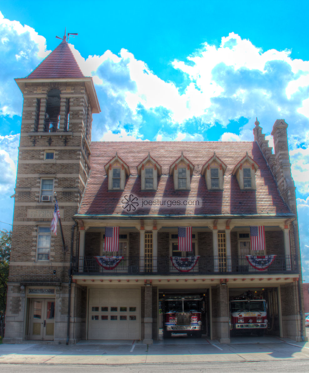 High Dynamic Range Firehouse.