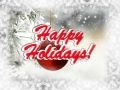 Happy Holidays - Photoshop 3D text