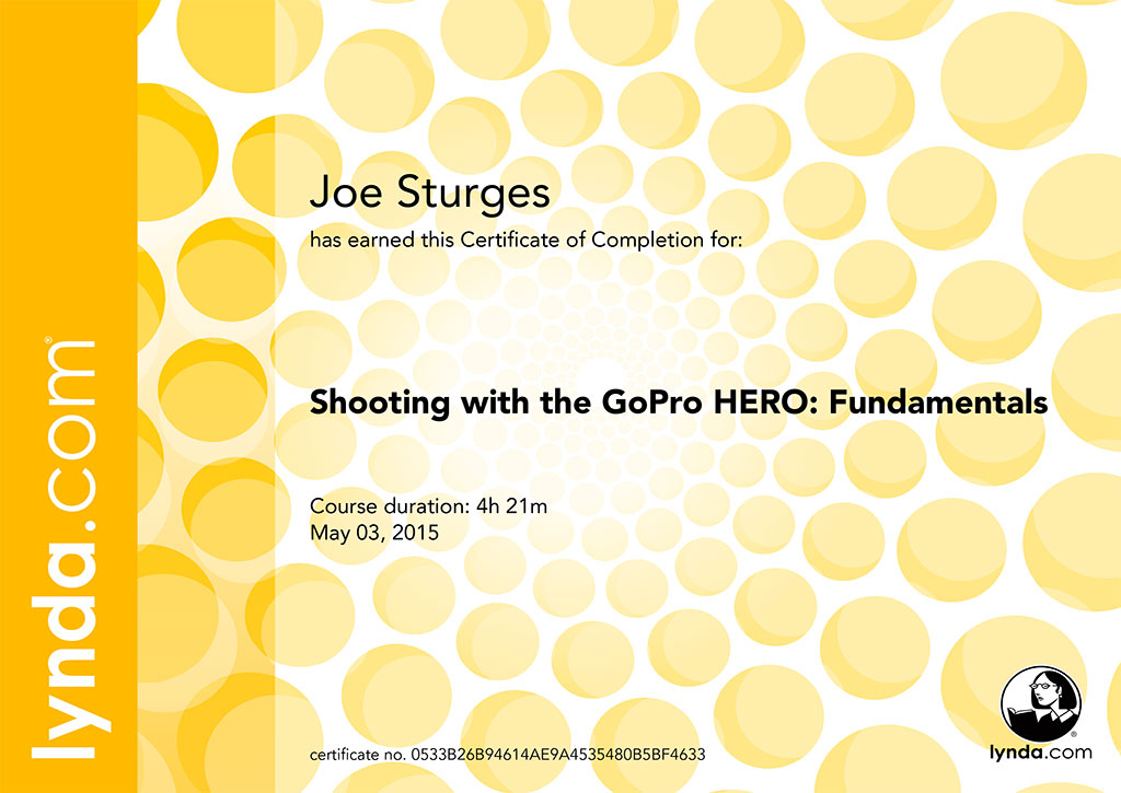 Shooting with the GoPro HERO: Fundamentals